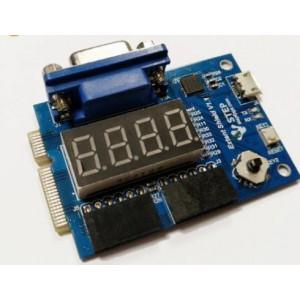 串口、数码管和显示扩展功能板