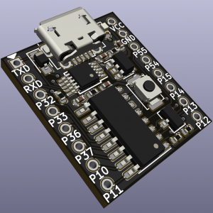 最小巧的8051系统模块